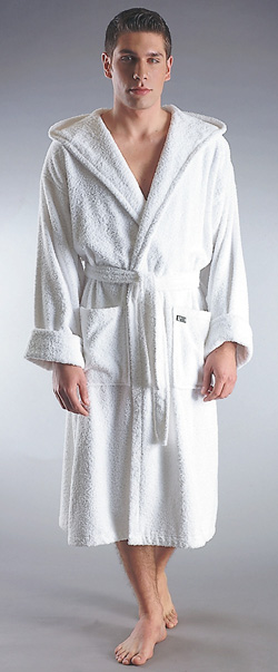 ROBE'N HOOD BATHROBE